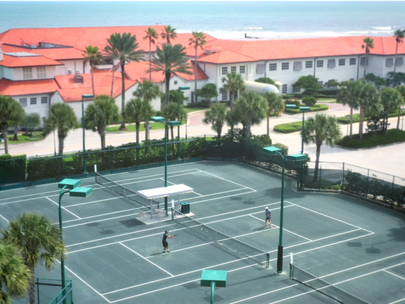 Ponte Vedra Resorts Tennis Courts