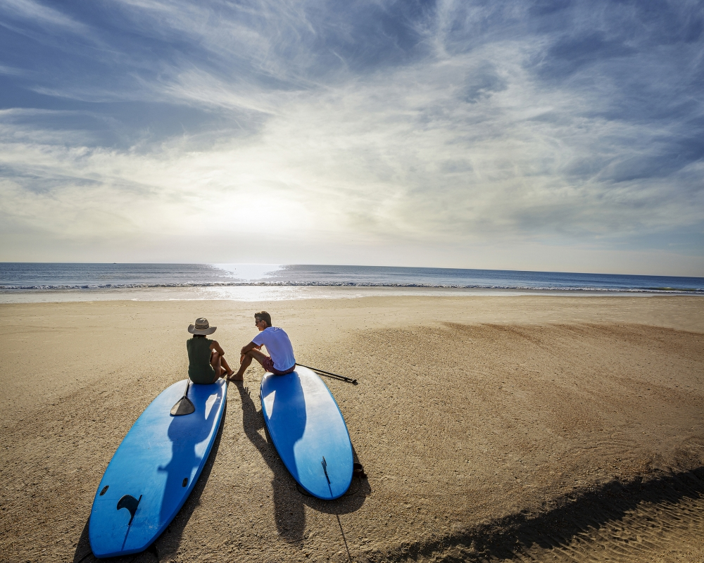 PVR Paddleboard Couple Sit A