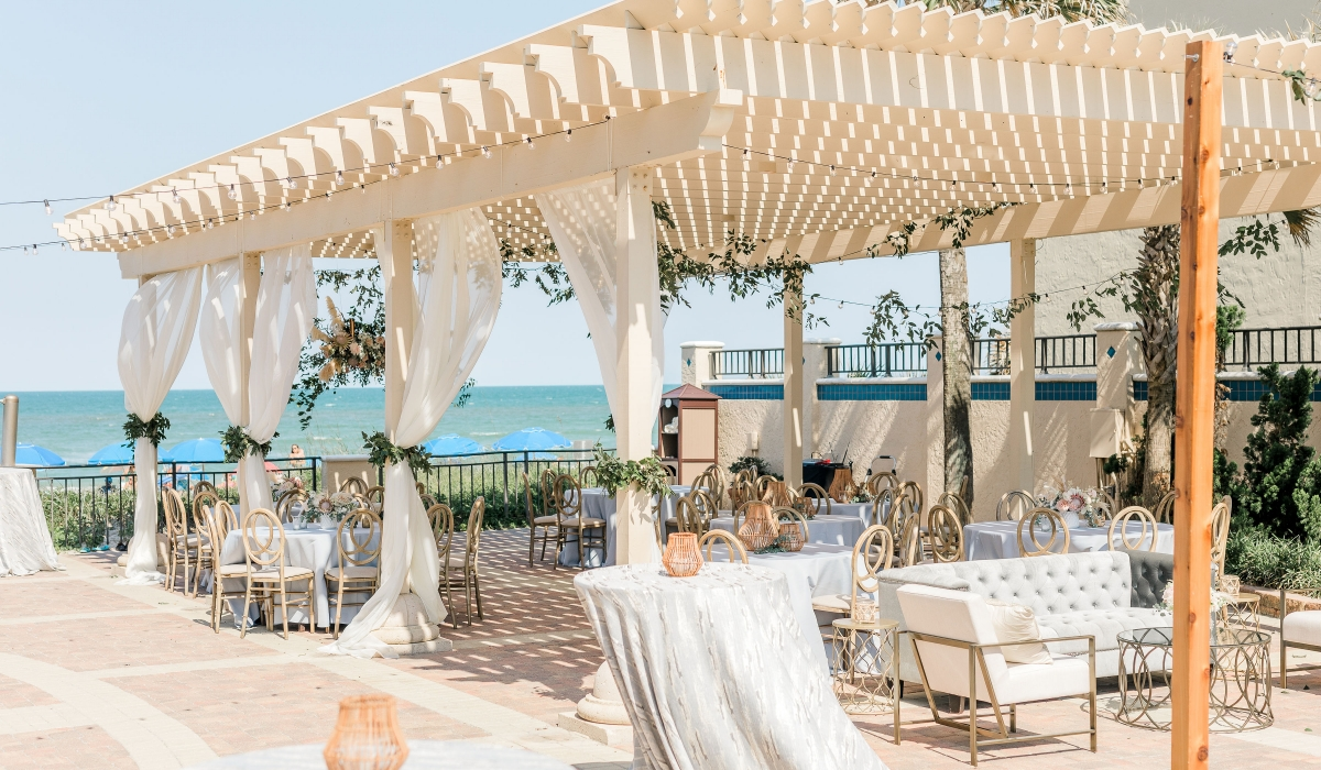 The Lodge and club beach side, Trellis, Weddings