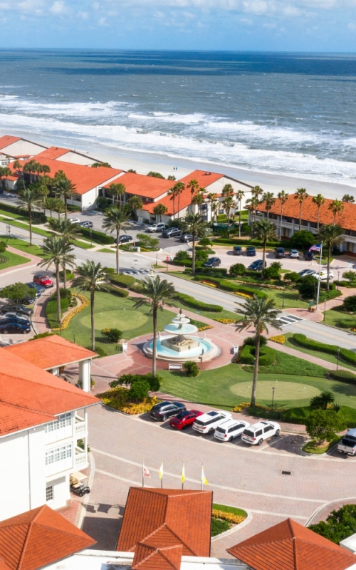 Ponte Vedra Inn & Club shore line