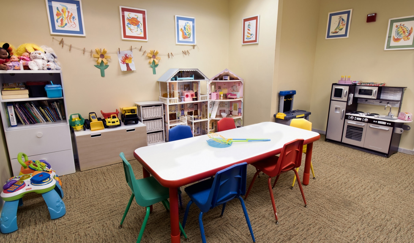 Kid's play room inside the Inn
