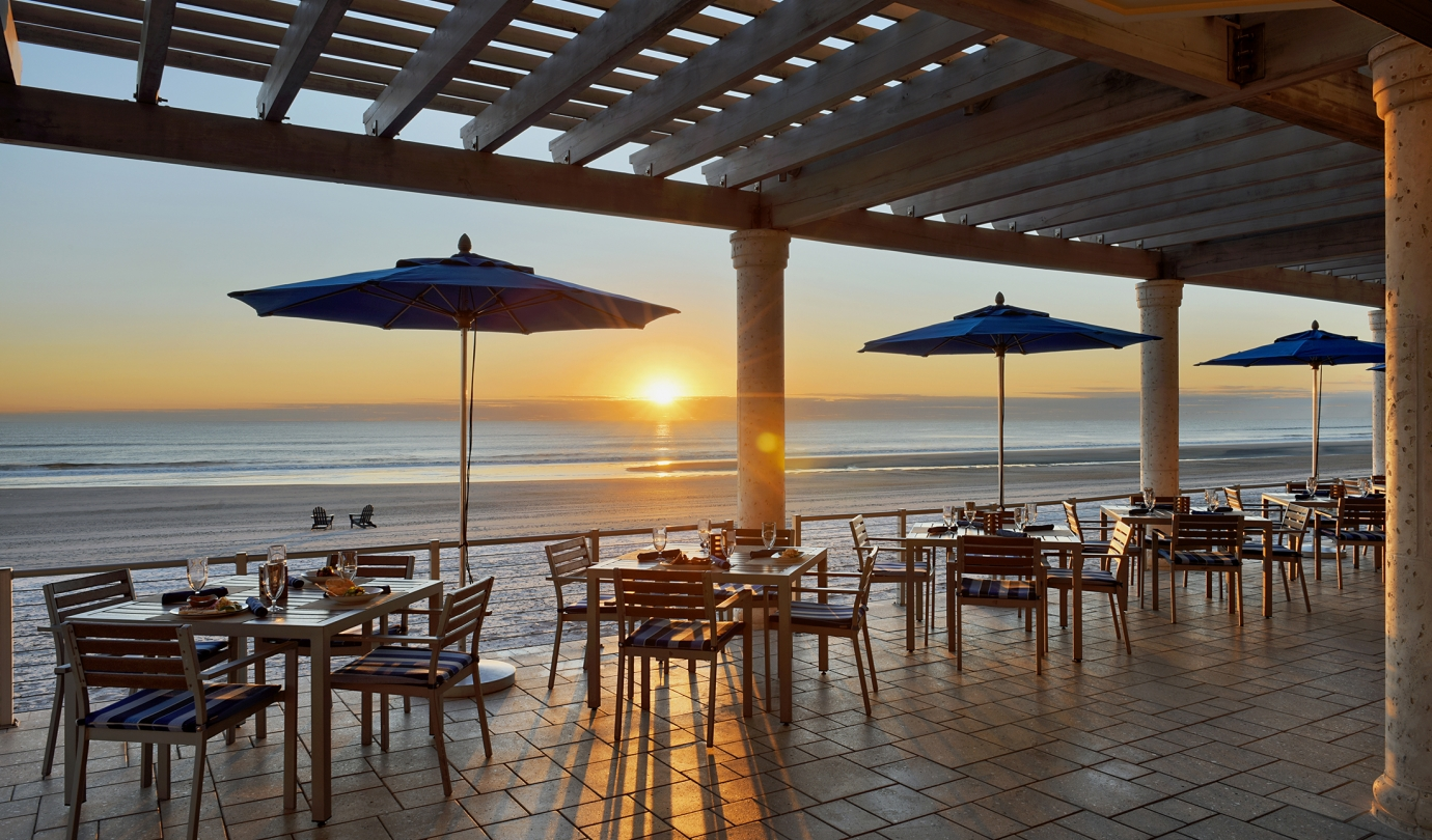 Surf Deck Grille sunset