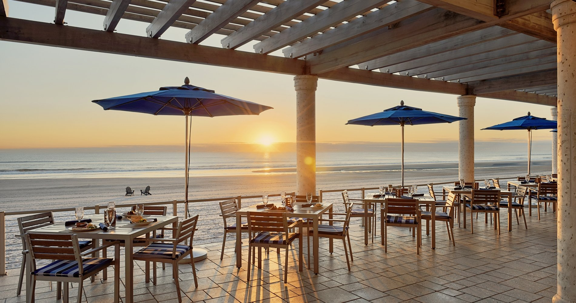 surf deck grille sunrise